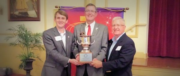 Midlothian Receives Governor's Cup
